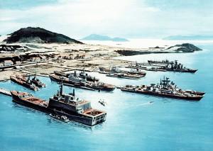 Крупное соединение кораблей ВМФ России завершило учения у берегов Сирии
