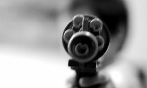 США протест с винтовками в руках
