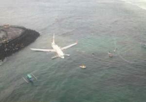 Крушение самолета на Бали
