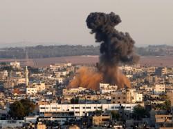 Израиль ударил по сектору Газа с воздуха