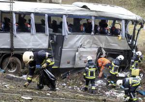 В Бельгии разбился автобус с подростками из Украины и России