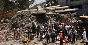 Индийская полиция арестовала 9 человек, виновных в обрушении здания в Мумбаи