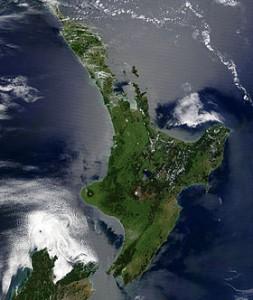 Северный и Южный острова Новой Зеландии никогда официально не существовали