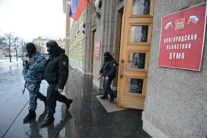 В Великом Новгороде по дорожному делу задержано 6 чиновников