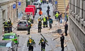 Взрыв в Праге четверо погибших и 50 раненых