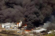 Адский огонь в Техасе расплавил рельсы и тела погибших