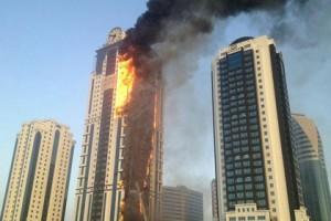 Кадыров списал пожар в Грозном на волю Аллаха