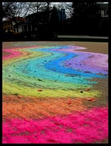 Москву ждут цветные дороги