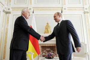 Президент Южной Осетии встретится с Владимиром Путиным в сочинской резиденции