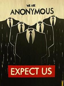 Хакерская группировка Anonymous заблокировала турецкие правительственные сайты