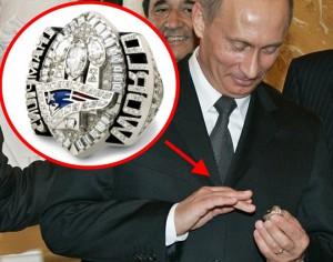 Крафт пошутил насчёт кражи Путиным перстня Super Bowl