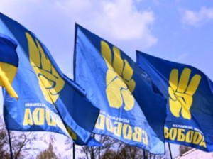 Лидера неонацистов облили фекальной массой в Запорожье