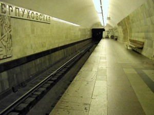 Очередной сбой в работе московского метро