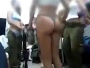 Стриптиз в израильской армии теперь на видео