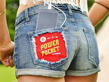 Учёные изобрели шорты, в кармане которых можно зарядить телефон