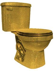 В Москве появились «золотые» туалеты
