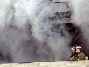 В Смоленской области горел психдиспансер