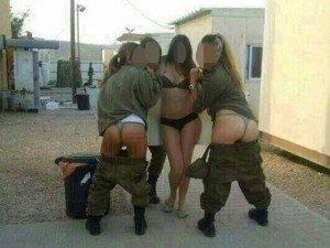 Военнослужащие израильтянки опубликовали свои пикантные фотографии в Facebook