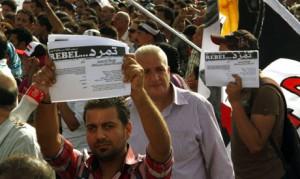 Египтяне, покинувшие страну, подготовили компанию 'Повстанец', запланировав   митинги зарубежом