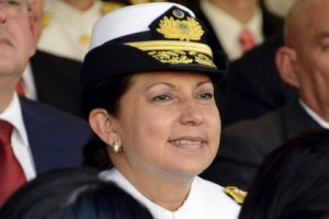 Оборонять Венесуэлу будет женщина-адмирал