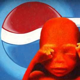 PepsiCo отказалась использовать клеточные линии нерождённых детей