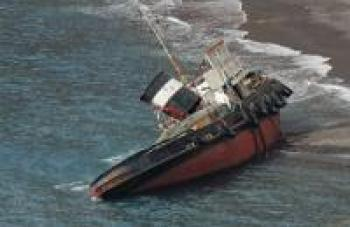 У берегов Пхукета затонул корабль