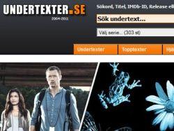 В Швеции за пиратство закрыли сайт с субтитрами