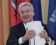 Собянин лидирует среди кандидатов на пост мэра