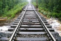 В Амурской области дожди смыли железную дорогу