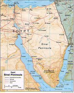 Боевики убили 24 египетских полицейских в Синае