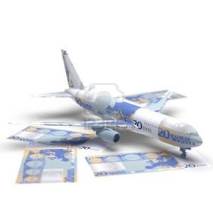 200 тонн евро лежат в самолете, стоящем в аэропорту «Шереметьево»