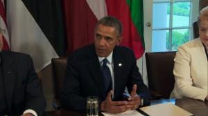 Обама встретился с сенаторами по вопросу Сирии