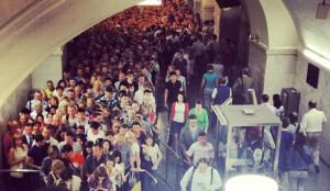 Московское МВД декриминализирует метро