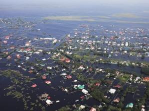 Уровень воды в Амуре превысил восемь метров