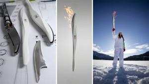 История и дизайн олимпийского факела с 1936 по 2012 год.  2010