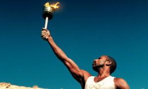 Олимпийский огонь потух, попав в Кремль