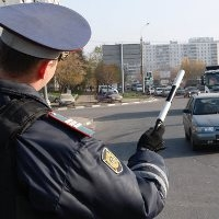 Остановленный сотрудником ДПС, водитель застрелился