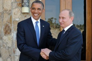 В Париже состоялась беседа Обамы и Путина
