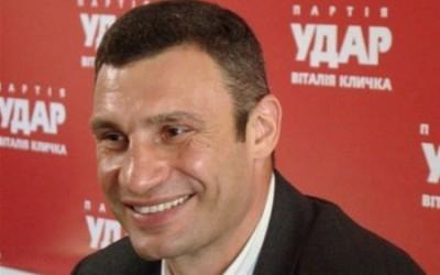Виталий Кличко желает баллотироваться в президенты Украины
