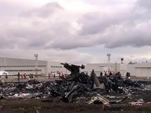 Останки пилотов потерпевшего крушение в Казани самолета будут проверены на алкоголь