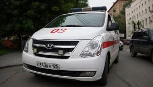 Столкновение рейсового автобуса и легкового автомобиля стало причиной смерти женщины в Санкт-Петербурге