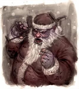 Банда Санта-Клаусов грабит ювелирные магазины в Албании и Косово