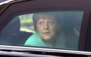 Канцлер Германии Ангела Меркель попала в ДТП на служебном лимузине
