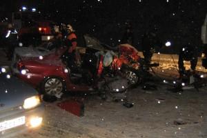 4 человека погибли и 20 пострадали в результате дорожно-транспортного происшествия в Коми