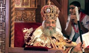 Президент Египта посетил коптский собор