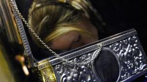 Петербуржец сбросил Дары волхвов в храме Христа Спасителя