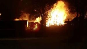 Примерно 30 сгоревших домов и 90 пострадавших зафиксировано в Норвегии в результате сильного пожара