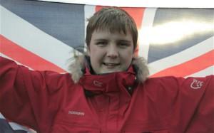 Школьник из Британии стал самым юным человеком на земле, покорившим Южный полюс