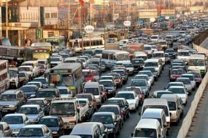 Столичные водители будут получать SMS с информацией о пробках