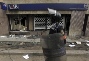 У здания банка в Будапеште прогремел взрыв, пострадавших нет